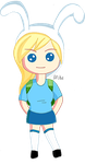 Adventure Time - Fionna, The Human Chibi v1 by Matchstar