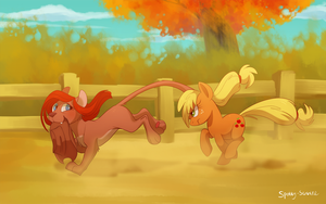 Applejack is not amused by Frozenspots