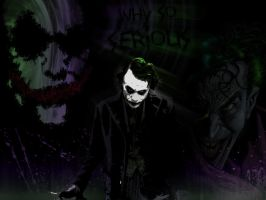 Joker Wallpaper by L1thum