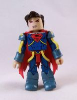 Superboy Prime Custom Minimate by luke314pi
