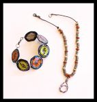 Bottlecaps and Beads by hippiedesigner