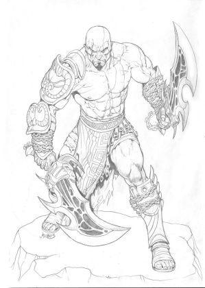 Kratos pencils
