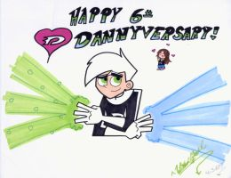 6th Dannyversay by WickedGhoul