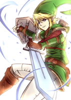 The Legend of Zelda - Link by Hananon
