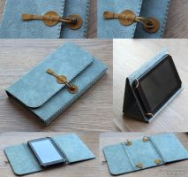 Tablet case by scargeear
