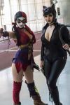 SE: NYC - Harley Quinn and Catwoman by SpideyVille