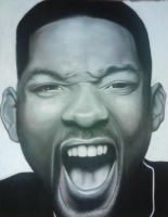 Will Smith Charcoal by AB-Vences