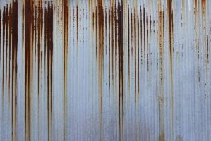 Corrugated Grunge Metal Texture by 4sidedpolygon