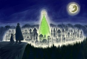 The City of Christmas Lights by lordvader914