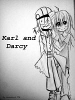 Karl and Darcy Request by GamerNerdFTW