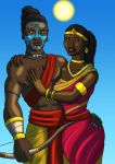 Rama and Sita by DaBrandonSphere