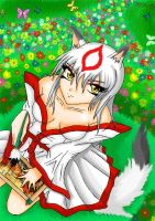okami amaterasu maiden form by lordxemnas
