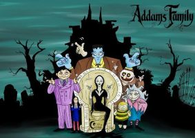 Addams Family by CornandCucumber