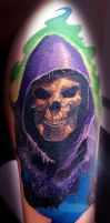 Skeletor Tattoo by BodyArtbyElf
