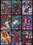 Marvel Universe 2014 by dixey