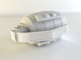 Grenade High Poly by adijs