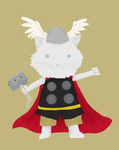 Cat Thor by whosname