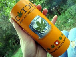 cannabis drink . by FuziuneLaRece