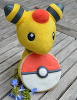 Ampharos's Cookie by Mikkino