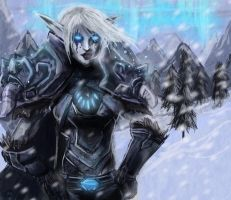 Death Knight Eloxir by Kerozzart