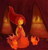 Flame Princess by Sunnynoga