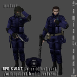 R.P.D. SWAT Officer Pack by DamianHandy