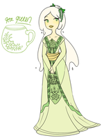 Tea Queen by TheLittlehoneybee