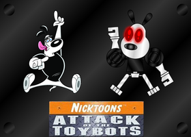 DUDLEY and DUDLEYBOT by mayozilla