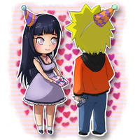 NaruHina moment by TropicalSnowflake