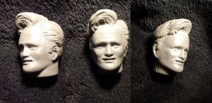 Conan O'Brien Sculpture by ayelid