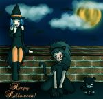 GajeelxLevy Happy - Halloween by IcyPanther1