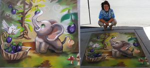 South Jordan Chalk Art Festival 2013 by sugarpoultry