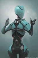 A nice little robot by SpoonfishLee