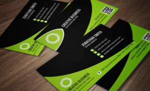 Modern Corporate Business Card SE0044 by annozio