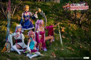 Web Koihime Musou: Battle Maidens by nihilistique