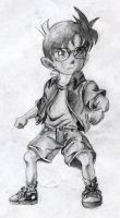 detective conan by drye