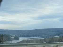 town of Nackawic N.B canada by BlueIvyViolet