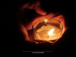 Candle and Hands 01 by eyadness