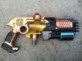 Steampunk Captain Sidearm by The-ARSENAL