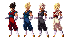 Vegeto KofXII palette by Methiou