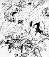 Old comic montage by davebraun