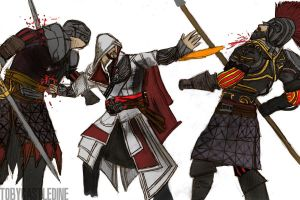 Ezio: Brotherhood by ChocolateBiscuits