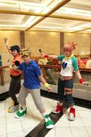 Digimon Tamers Cosplay Group by shuukichi
