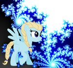 Mlp Elsa (With background) by LizDoesMinecraft