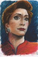 Kira Nerys by blacktsubu