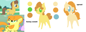 Honey Sweet And Sprout by angelstar000