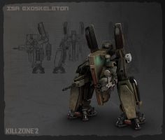 Killzone 2 - ISA Exoskeleton by Etch06