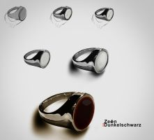 How I paint a Ring by VERITAS-ZEEN