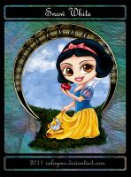 Chibi Snow white by Calaymo