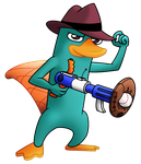 Perry the Platypus by Indybreeze